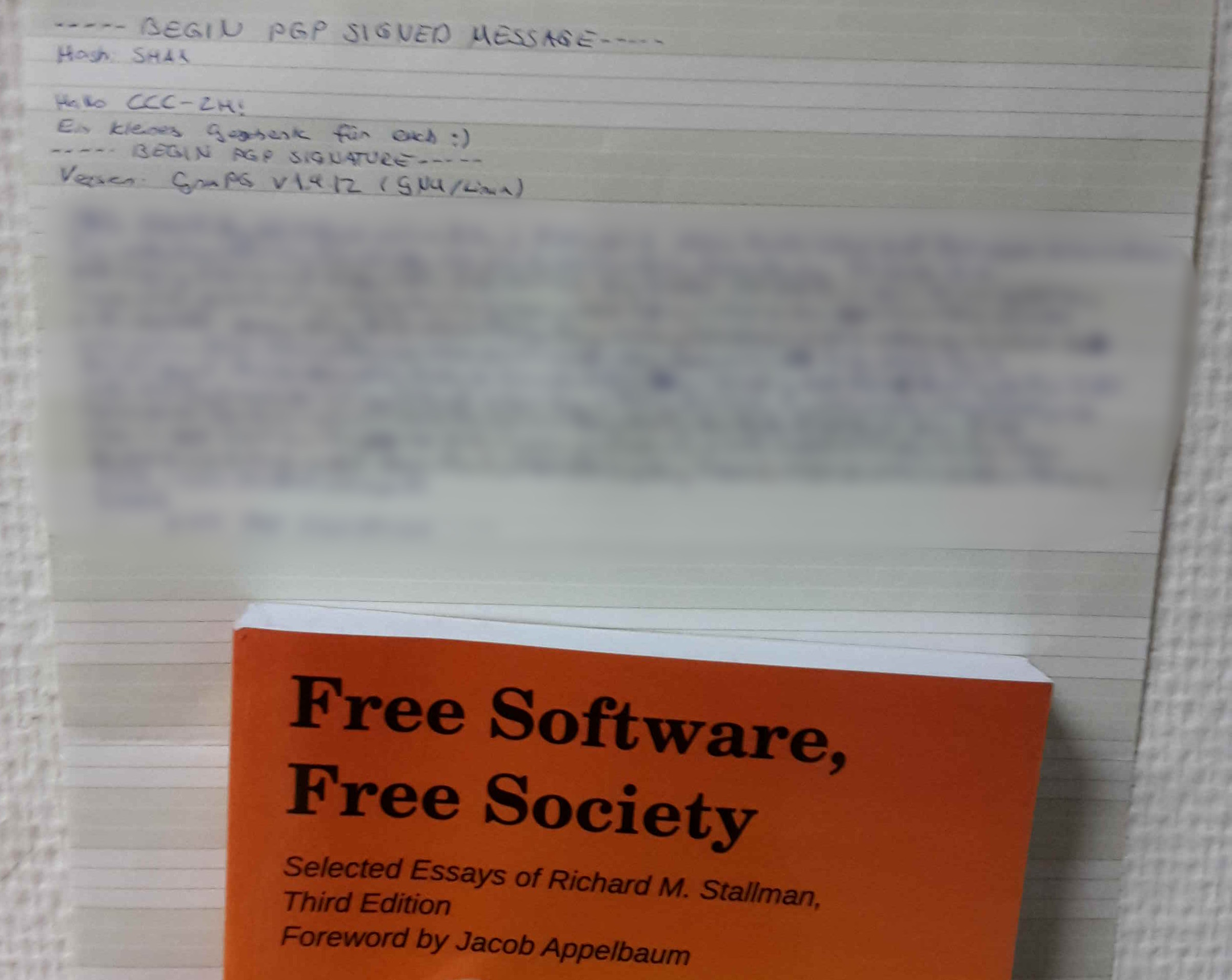 Cover image for article Freie Software, Freie Geschenke